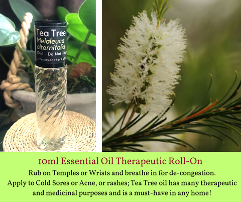 Tea Tree - Roll On Therapeutic Aromatherapy