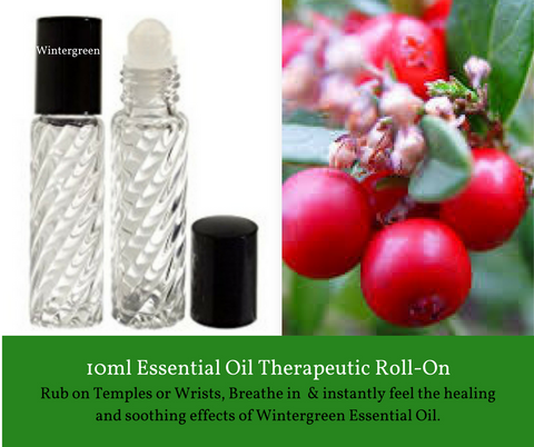 Wintergreen - Roll On Therapeutic Aromatherapy
