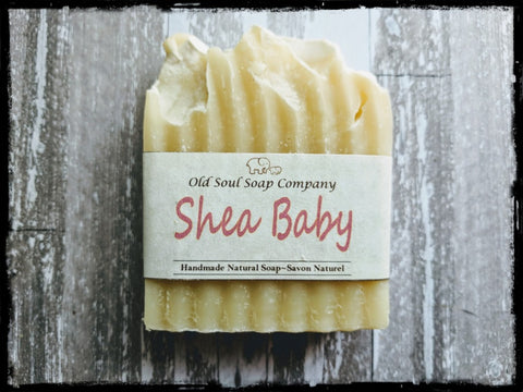 Natural Soap Bar - Shea Baby
