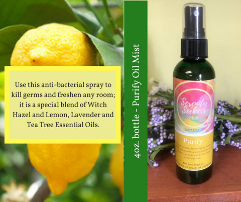Purify Essential Oil Room Mist - Wholesale