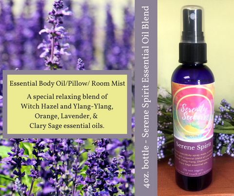 Serene Spirit Essential Oil Body/Room/Pillow Mist