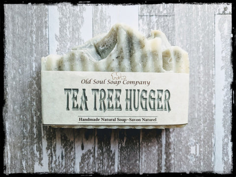 Natural Soap Bar - Tea Tree Hugger