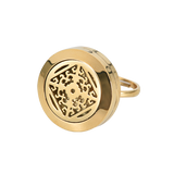 """DIVINE"" AROMA RING - 18K GOLD PLATED"