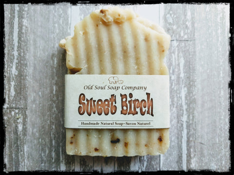 Natural Soap Bar - Sweet Birch