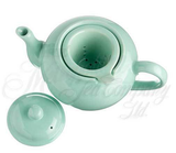Tea Pot - Loose Leaf - 3 Cup Ceramic - Sea Foam - ONLY ONE Left!