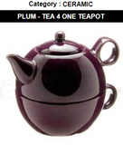 Tea Pot - Tea For ME - Plum - ONLY ONE LEFT!