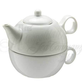 Tea Pot - Tea For ME - White