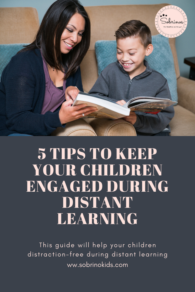 5 Tips to Keep Your Children Engaged During Distant Learning