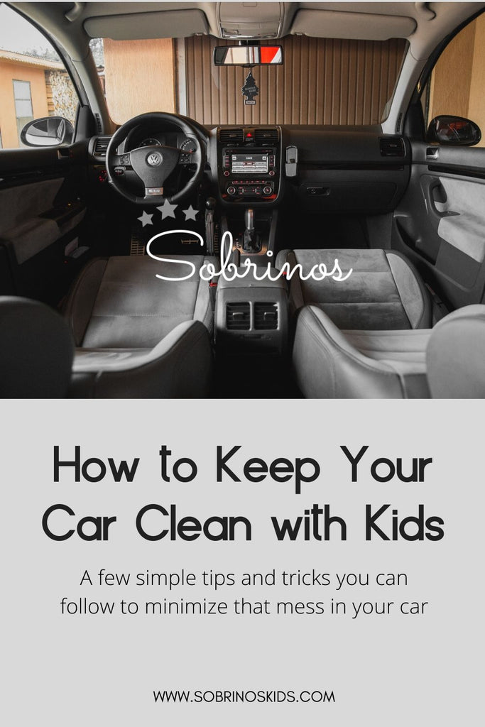 A Simple Guide: How to Keep Your Car Clean with Kids