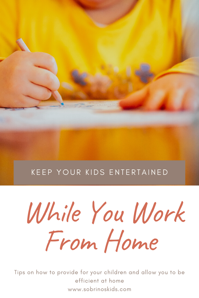 Ideas to Keep Kids Entertained While You Work From Home