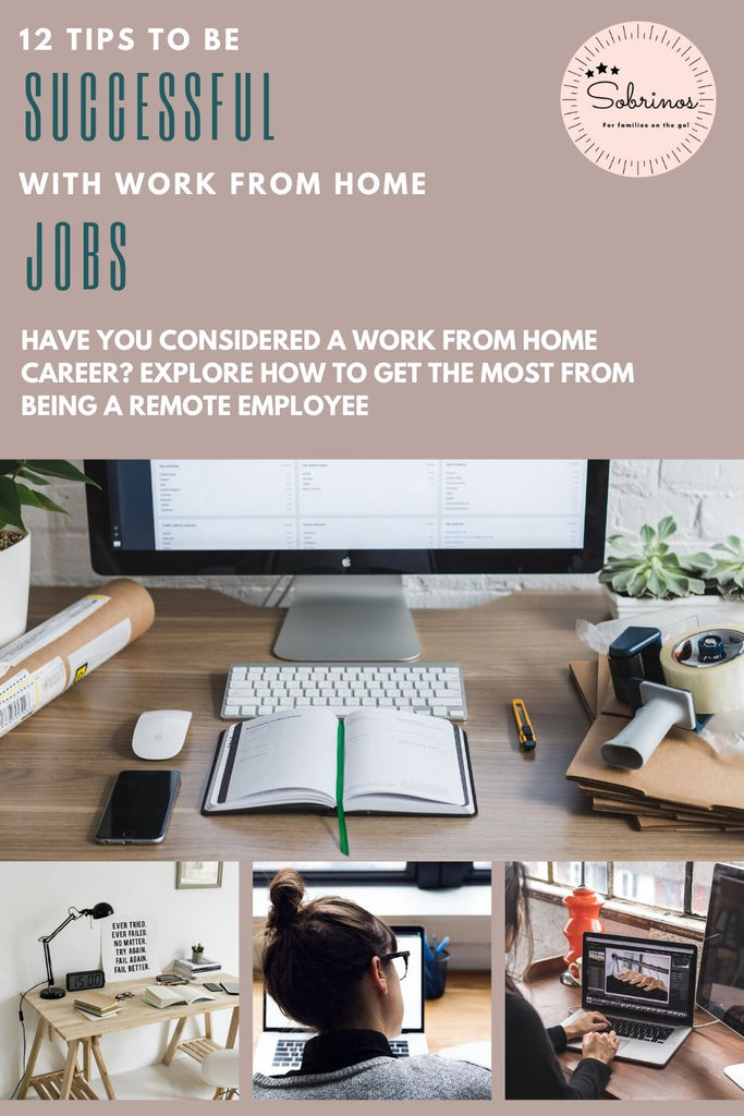 12 Tips to be Successful with Work at Home Jobs