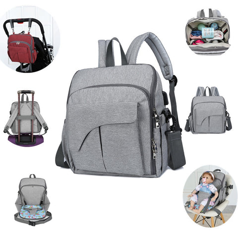 Stylish and Low Key Backpack Design Diaper Bag for Mothers