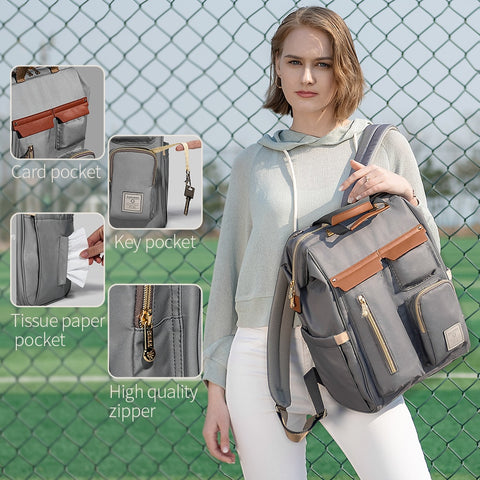 Convenient Diaper Bag with Multiple Compartments