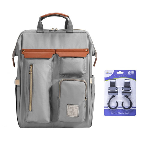 Image of Convenient Diaper Bag with Multiple Compartments