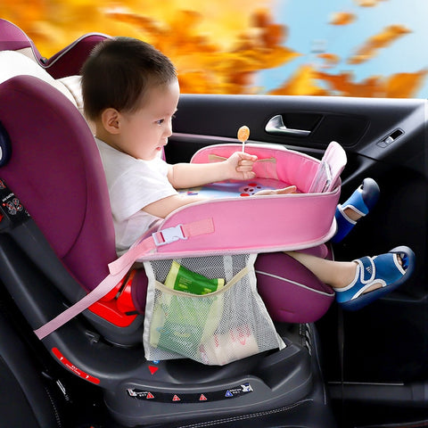 Keep Baby Safe and Entertained with a Universal Baby Car Seat Activities Area