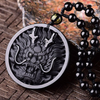 Black Obsidian Dragon Head Pendant