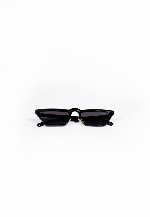 Black Slimline Knight Rider Sunglasses
