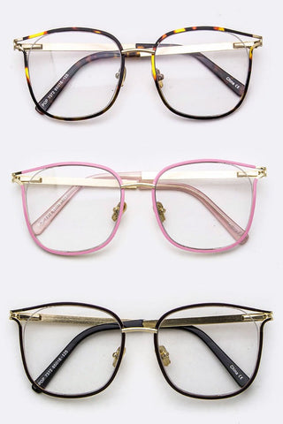 Blanche Clear Lens Glasses