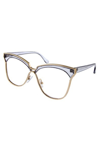 Farah Clear Sunglasses