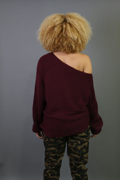 Layla One Shoulder Sweater