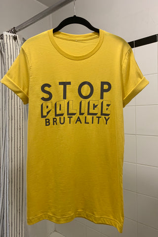 Stop Police Brutality T-shirt