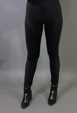 Maxine soft velvet leggings