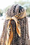 Yellow Triangle Scarf