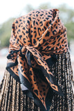 Animal Print Triangle Scarf