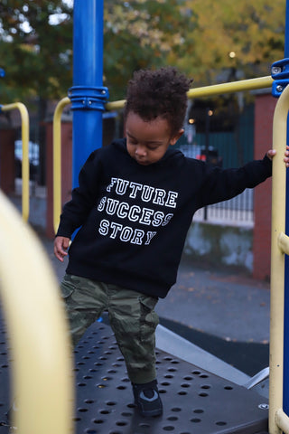 """Future Success Story"" Toddler Fleece Hoodie"