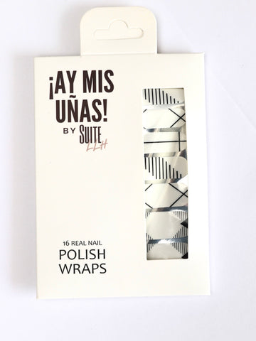 ¡Ay Mis Uñas! Lineation Nail Wraps