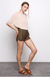 Vicky Woven Track Shorts