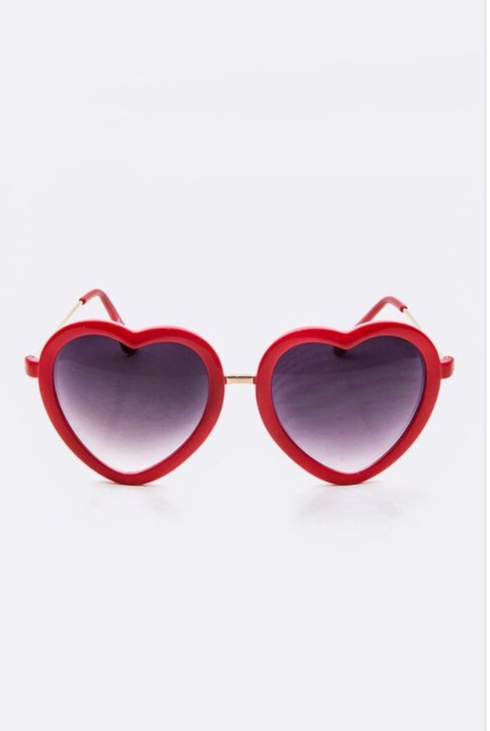 Joyce Heart Shaped Sunglasses