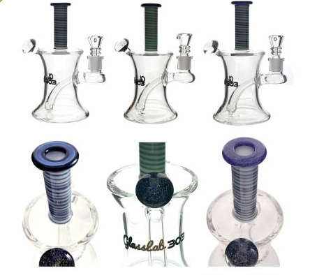 "Glass Lab 303 7"" Banger Hanger Dichro"