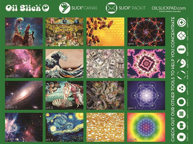 OS pad Canvas various - shellshock420