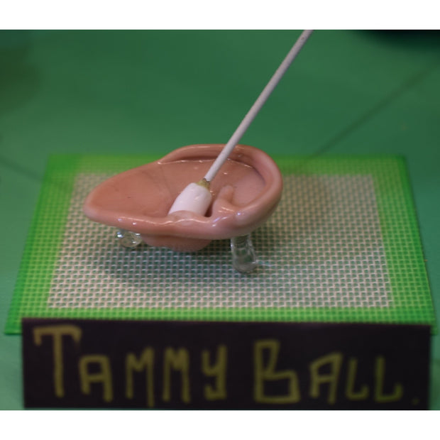 Tammy Ball Ear Oil Dish w/ Tip - shellshock420