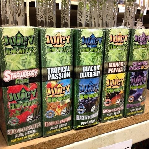 Juicy Jay Hemp Wraps - Shell Shock