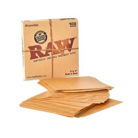 Raw Parchment Pouches 20 Per Box