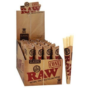 Raw Cones Classic KS 3Pk - Shell Shock