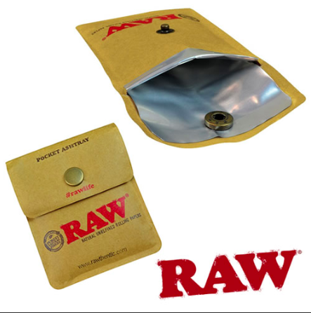 Raw Pocket Ashtray - shellshock420