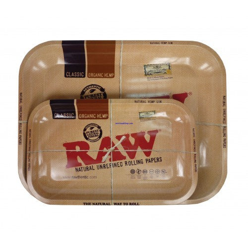 Raw Rolling Tray Large - Shell Shock