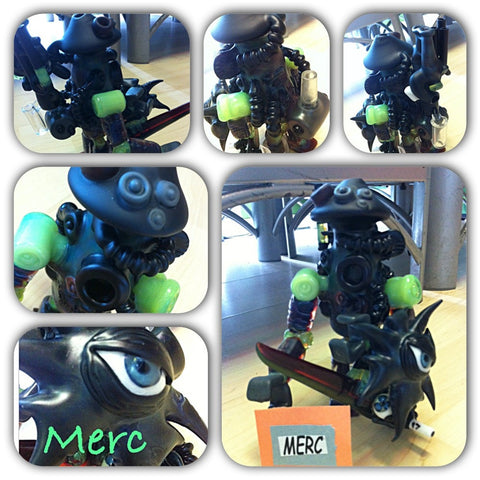 Merc Sick Warrior Minion - Shell Shock
