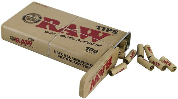 Raw Filters Pre Rolled Tips