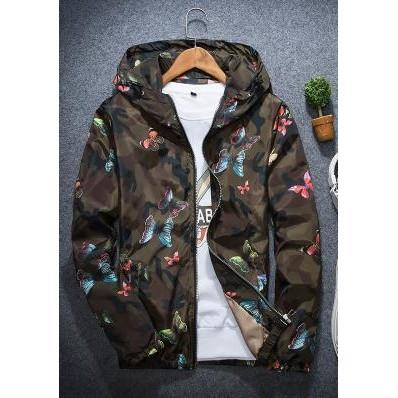Butterfly Hooded Slim Jacket - 80 Or Less - Buy Everything for $80 Or Less