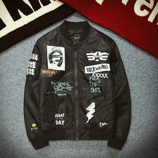 Casual Anarchy Retro Bomber - 80 Or Less - Buy Everything for $80 Or Less