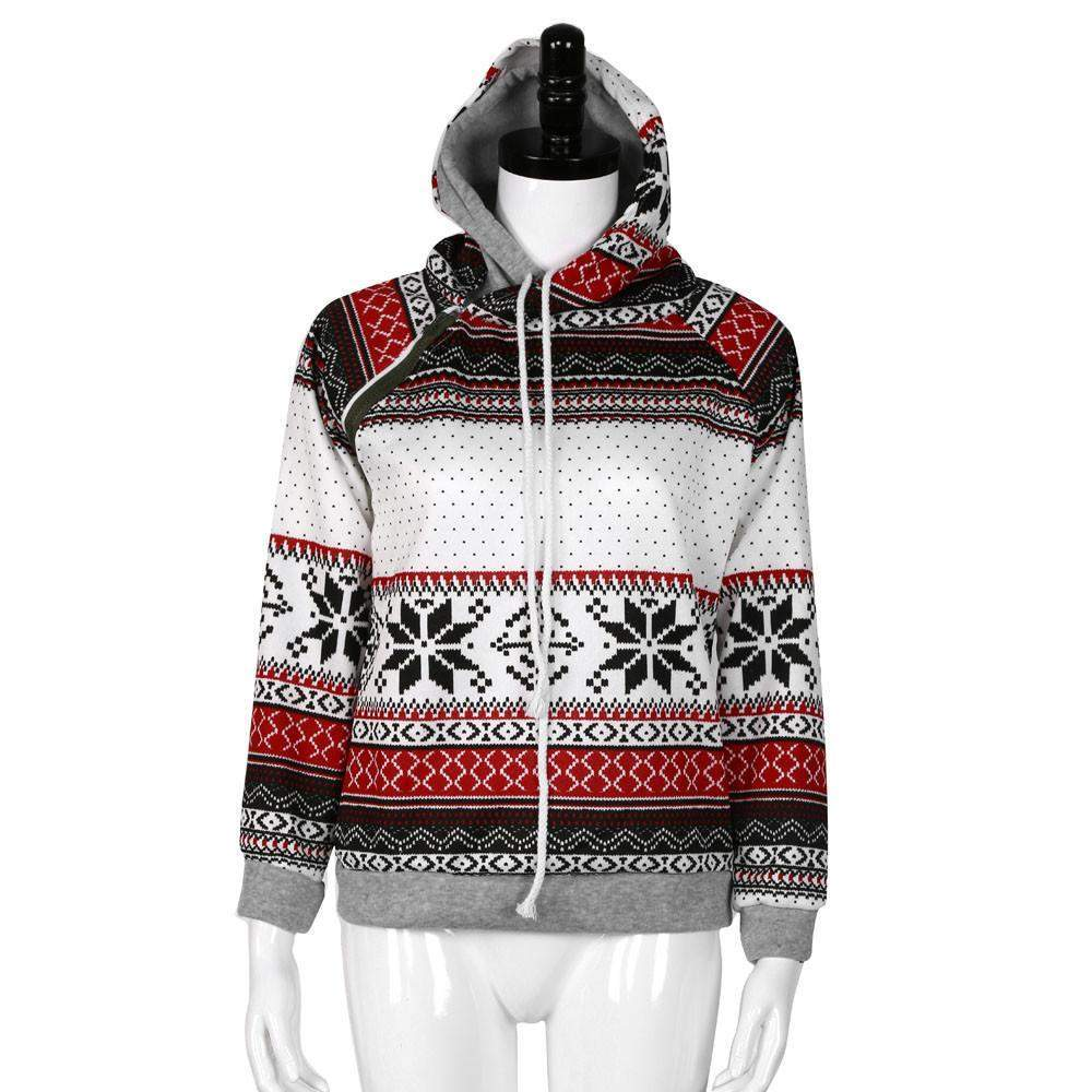 Christmas Hooded Pullover