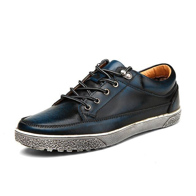 Merkmak® Calf Leather Vintage Shoes - 80 Or Less - Buy Everything for $80 Or Less