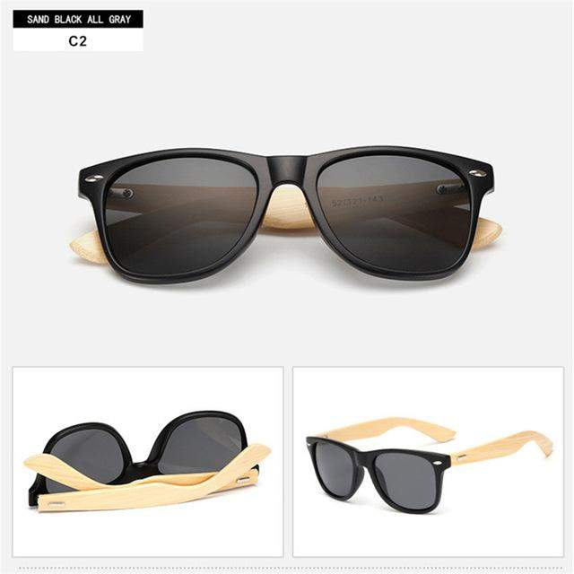 Unisex Bamboo Sunglasses (FREE PROMO SAMPLE)