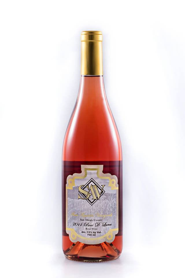 San Agustin Vineyards Wine Rose