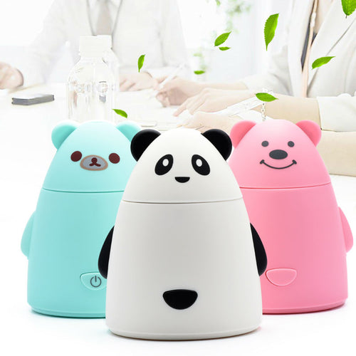 USB Mini Animal Ultrasonic Humidifier Mist Maker Fogger