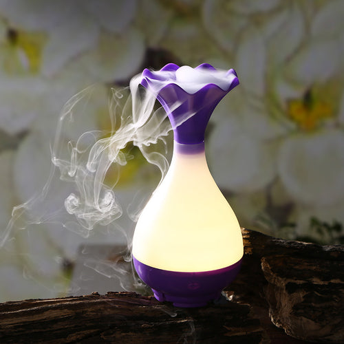 Portable Bottle LED Ultrasonic Mist Maker Air Humidifier